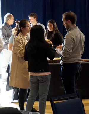 Students at SA Symposium