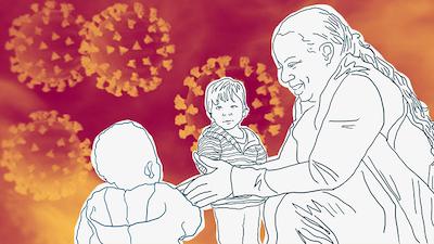 Childcare illustration
