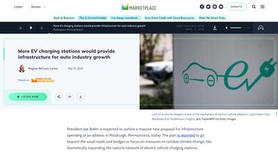 Marketplace news page
