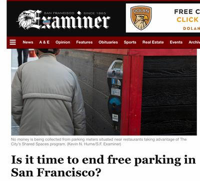 SF Examiner news site