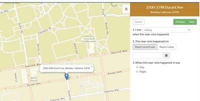 Street Story map