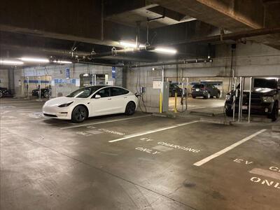 Car charging at RSF parking lot