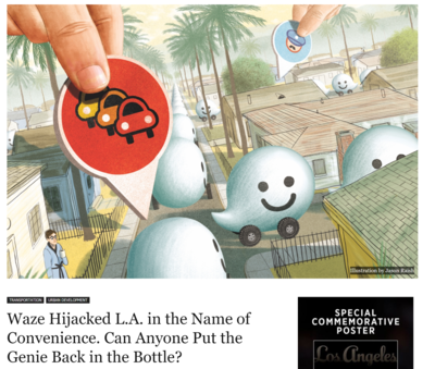 Waze Hijacked L.A. in the Name of Convenience