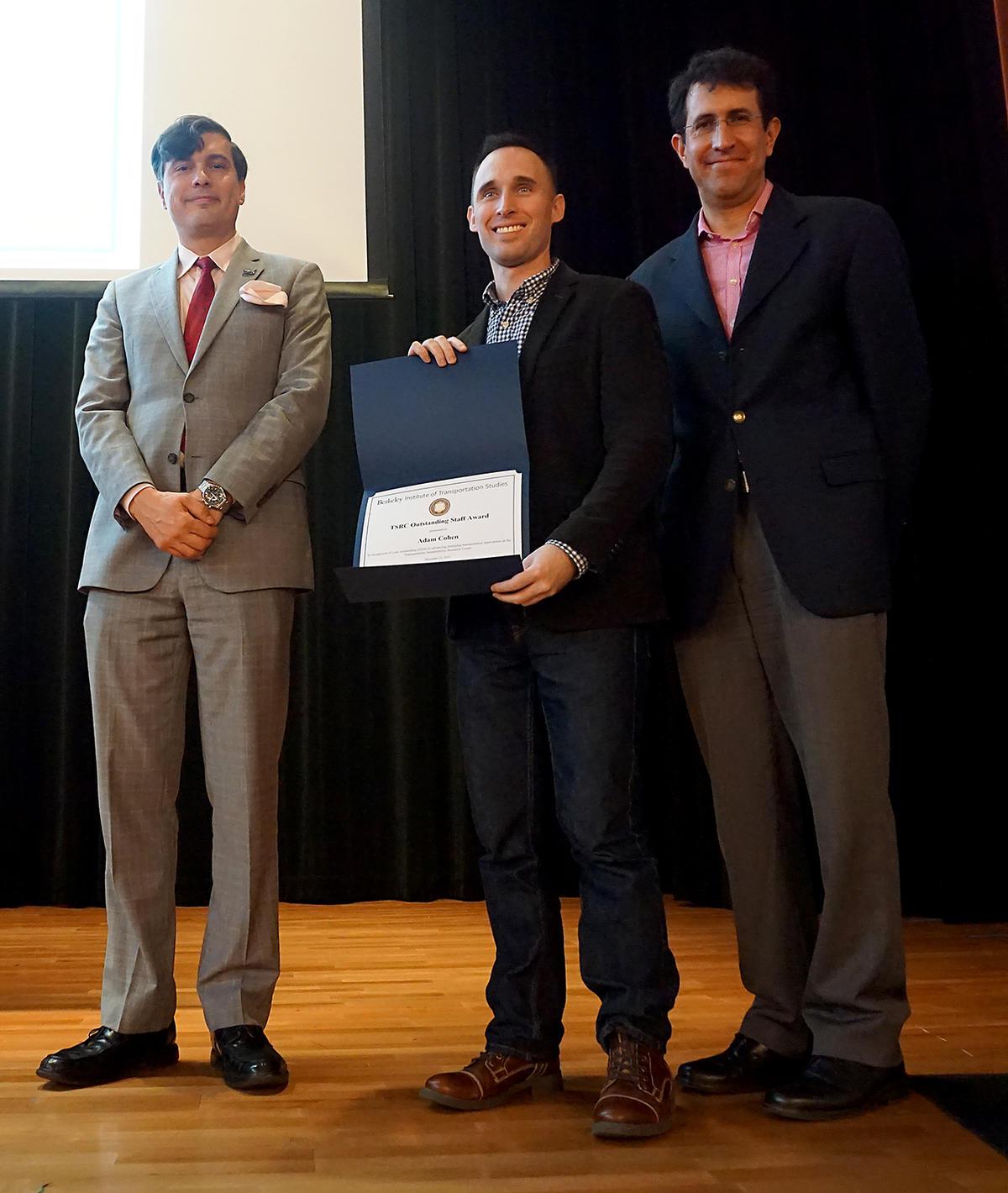 Cohen TSRC Outstanding Staff Award