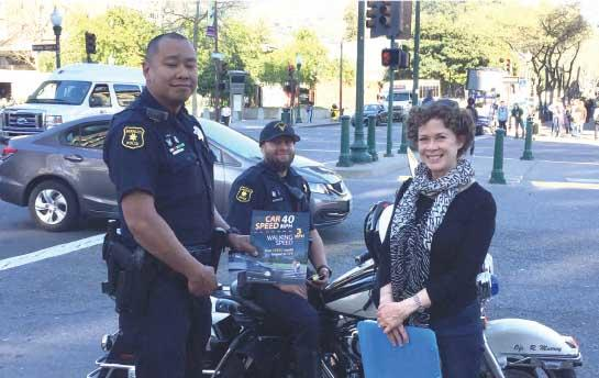 Jill Cooper with Berkeley police