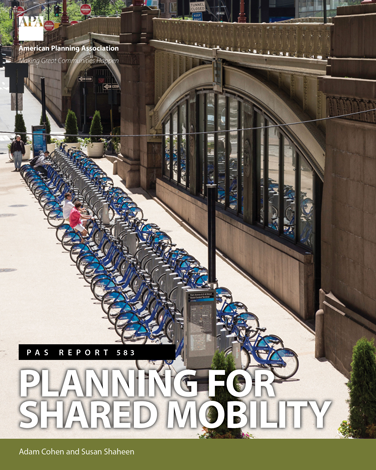 Planning for Shared Mobility