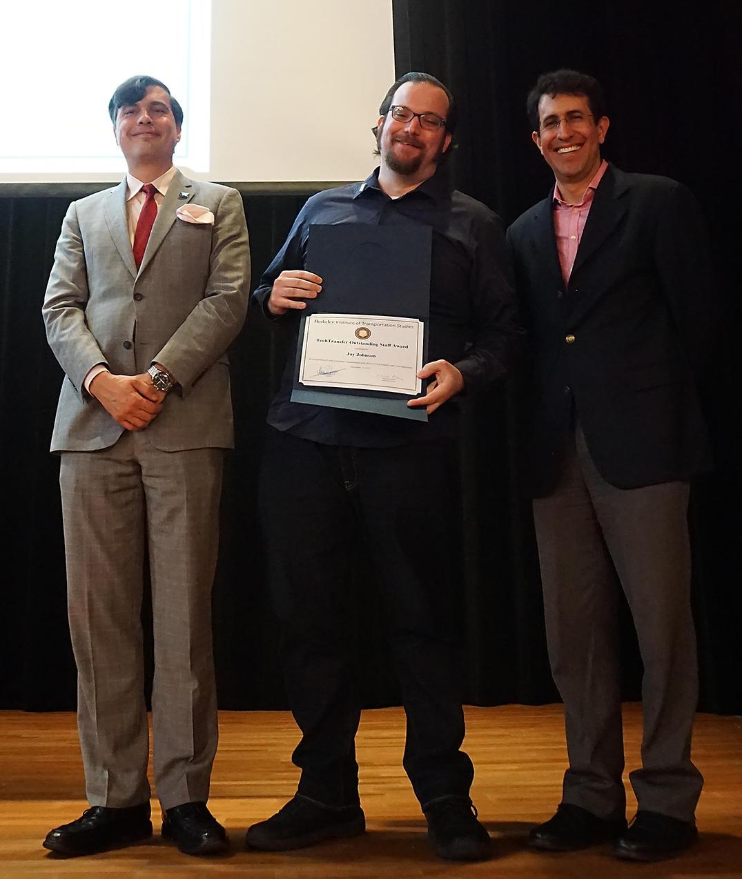 Johnson TechTransfer Outstanding Staff Award
