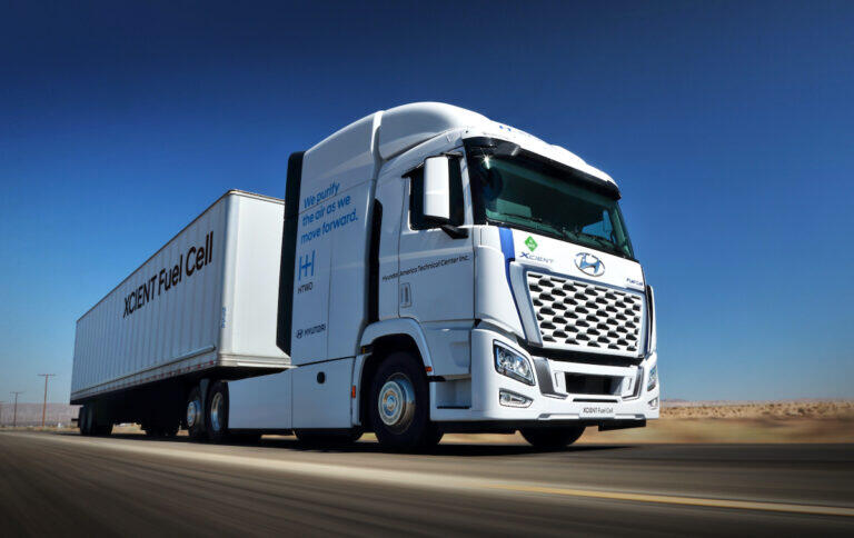 NorCAL ZERO project supports Hyundai's entry into the U.S. market for Class 8 hydrogen fuel cell electric trucks
