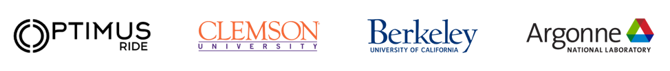 Optimus, CLemson Argonne, Berkeley logos