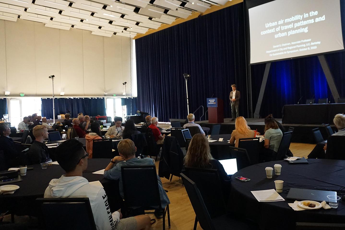 Dan Chatman presenting at SA Symposium