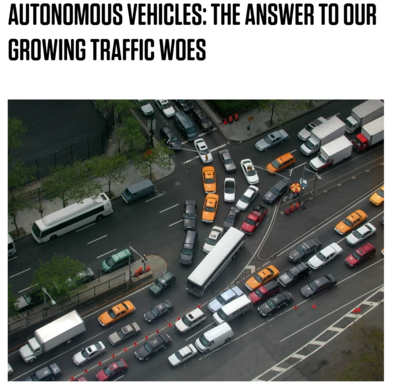 The Answer to Our Growing Traffic Woes