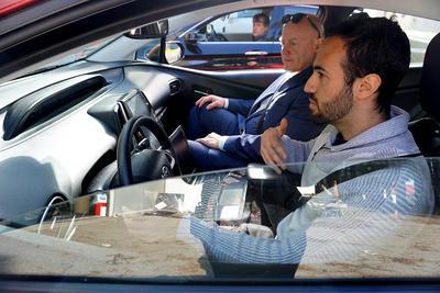 Autonomous Vehicle test