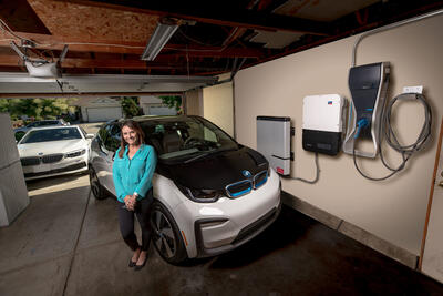 BMW Electric vehicle charging