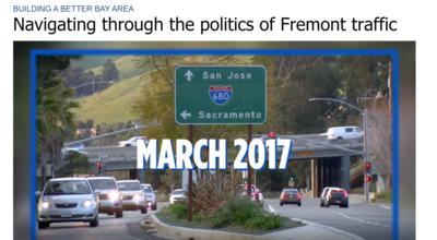 Navigating through the politics of Fremont Traffic
