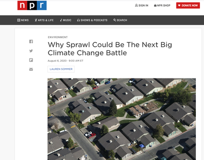 NPR Front page