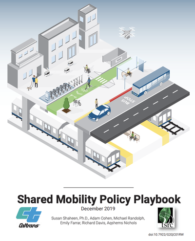 Shared mobility policy playbook