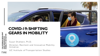 Shifting Gears in Mobility